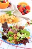 Vegetarian menu Royalty Free Stock Photography