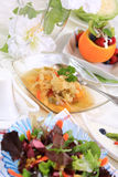 Vegetarian menu Royalty Free Stock Images