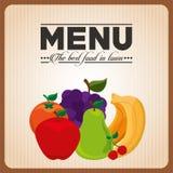 Vegetarian menu Royalty Free Stock Image