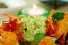 Vegetarian Nachos Royalty Free Stock Photos