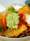 Vegetarian Nachos Royalty Free Stock Photo