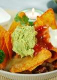 Vegetarian Nachos Royalty Free Stock Photo
