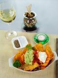 Vegetarian Nachos Stock Image