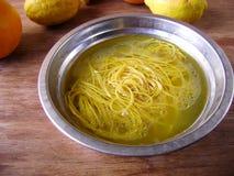 Vegetarian Noodle soup Stock Photo