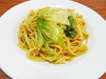 Vegetarian noodle, Vegan food festival Stock Image