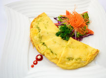 Vegetarian Omelette Royalty Free Stock Images