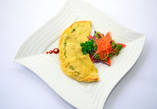 Vegetarian Omelette Royalty Free Stock Image