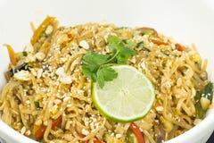 Vegetarian Pad Thai Stock Image