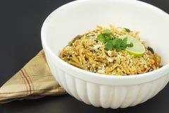 Vegetarian Pad Thai Royalty Free Stock Photos