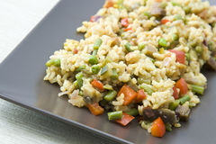 Vegetarian Paella Royalty Free Stock Images