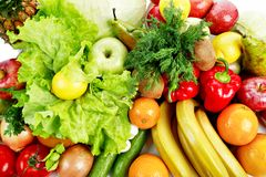 Vegetarian paradise Stock Images