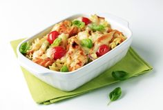 Vegetarian pasta Royalty Free Stock Photo