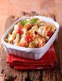Vegetarian pasta Royalty Free Stock Photography