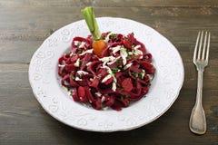 Vegetarian pasta Stock Photography