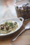 Vegetarian pasta Royalty Free Stock Image