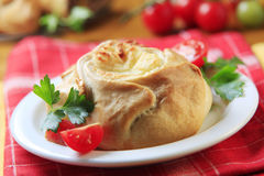 Vegetarian pasty Royalty Free Stock Image