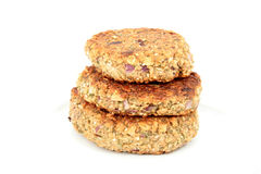 Vegetarian patties Stock Photography