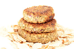 Vegetarian patties Royalty Free Stock Image