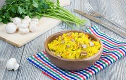 Vegetarian pilaf Royalty Free Stock Images