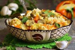 Vegetarian pilaf. Stock Image