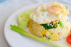 Vegetarian pineapple fried rice Stock Photography