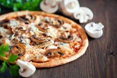 Vegetarian pizza Royalty Free Stock Image
