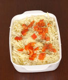 Vegetarian potato bake Stock Images