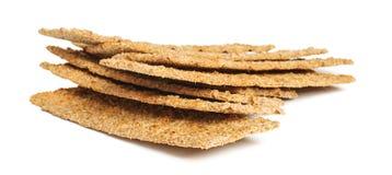 Vegetarian product flatbread grain cakes duoniukai Stock Photo