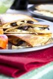 Vegetarian Quesadillas Royalty Free Stock Photos