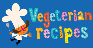 Vegetarian recipes Royalty Free Stock Image