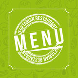 Vegetarian restaurant Royalty Free Stock Image