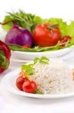 Vegetarian rice Stock Photo