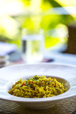 Vegetarian rice royalty free stock photography