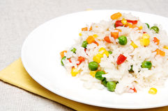 Vegetarian risotto Royalty Free Stock Photography