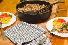 Vegetarian risotto Royalty Free Stock Photos