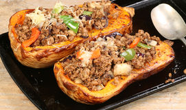 Vegetarian roast squash Stock Images