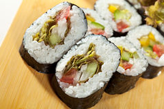 Vegetarian Roll Royalty Free Stock Images