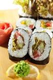 Vegetarian Roll Stock Image