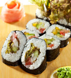Vegetarian Roll Stock Photos