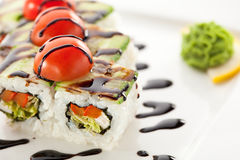 Vegetarian Roll Royalty Free Stock Photos