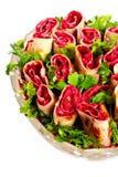 Vegetarian rolls Royalty Free Stock Photos