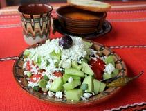 Vegetarian salad Stock Image