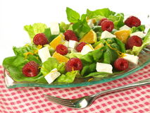 Vegetarian salad Stock Image