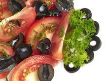 Vegetarian salad Royalty Free Stock Photos