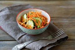 Vegetarian salad in a bowl Royalty Free Stock Photos