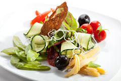 Vegetarian Salad Royalty Free Stock Image