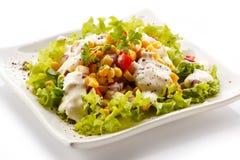 Vegetarian salad Royalty Free Stock Image
