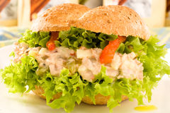 Vegetarian Sandwich Royalty Free Stock Image
