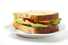 Vegetarian Sandwich Royalty Free Stock Photos