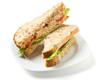 Vegetarian Sandwich Royalty Free Stock Photo